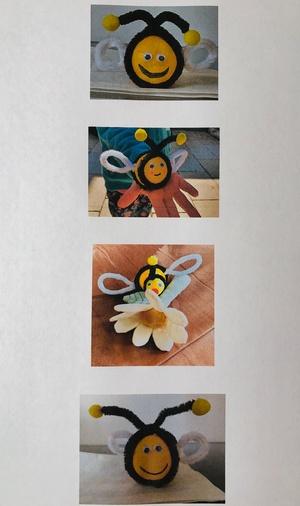 Bienen Alle vier klein