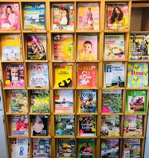 Zeitschriften klein